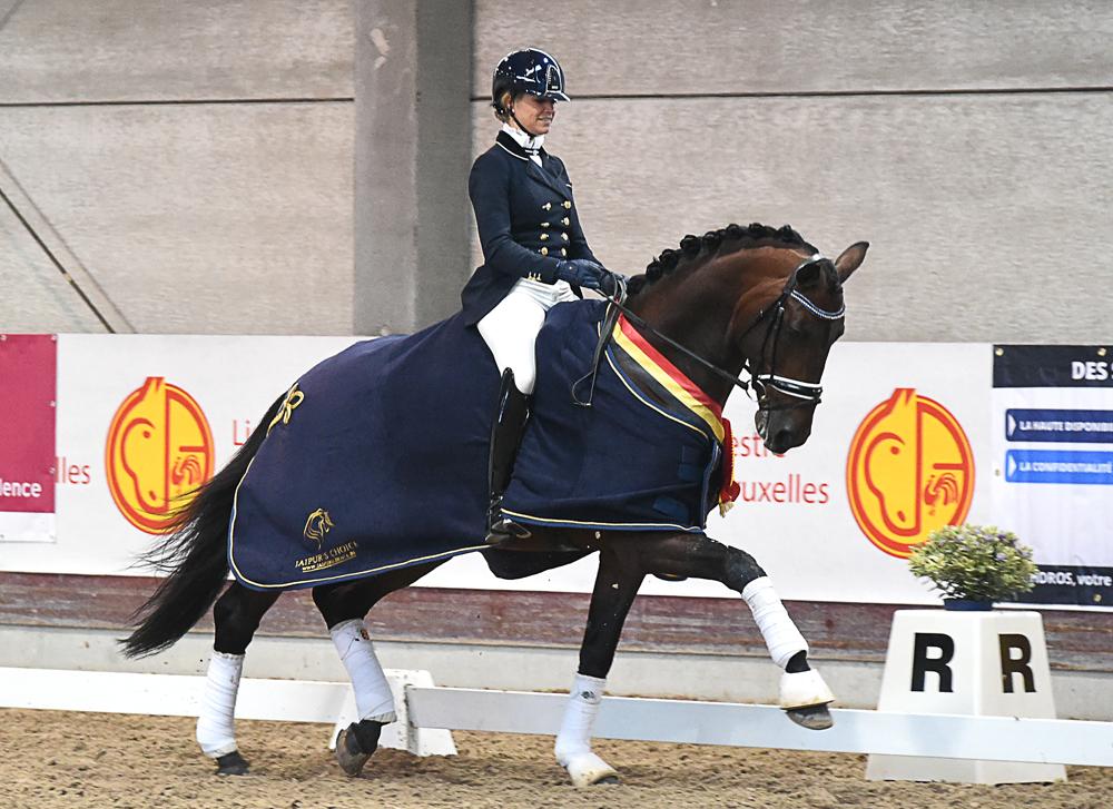 Barroso, Champion de Belgique 2016 des 6 ans