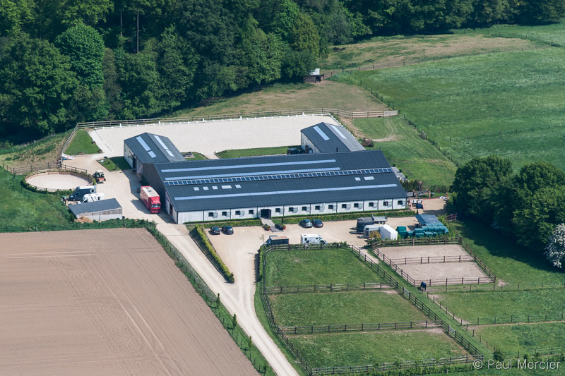 The stables from the sky