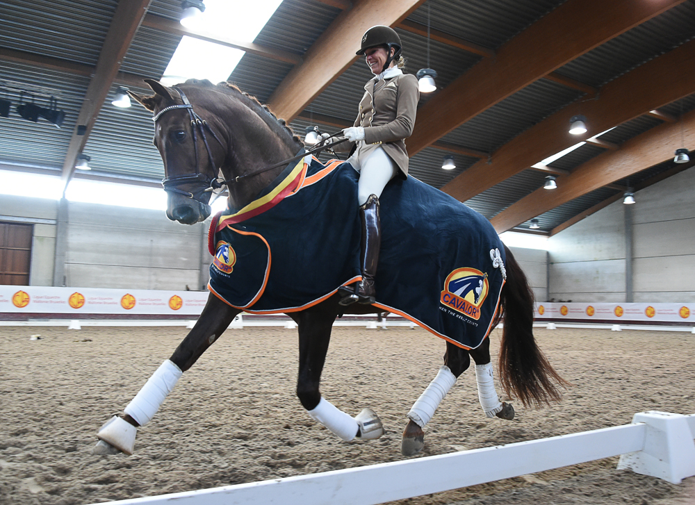 Valentin, vice-champion of Belgium, 4-year-old, 2016