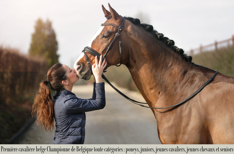 LARISSA PAULUIS, cavalière olympique